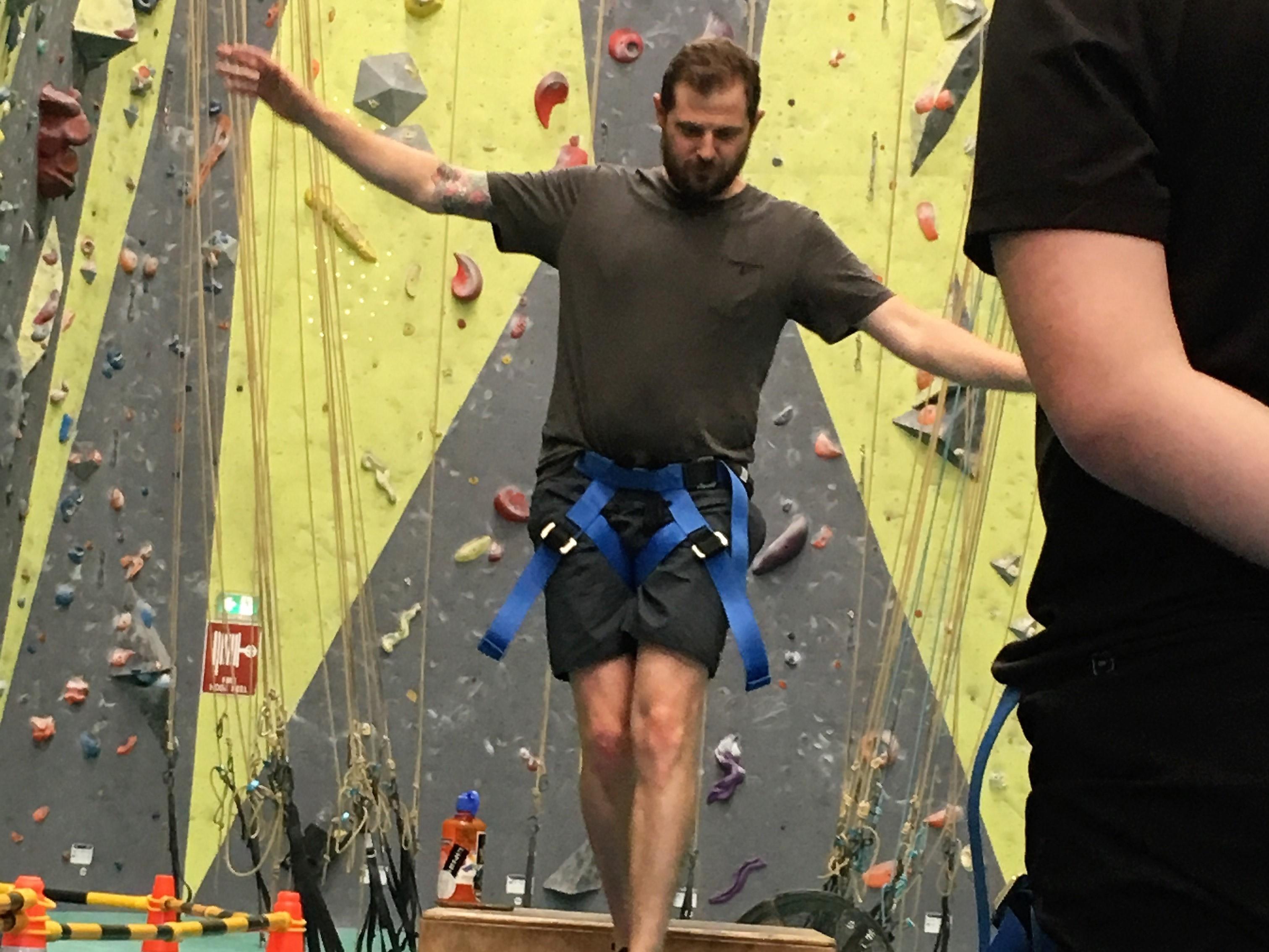 Team Rock Climbing